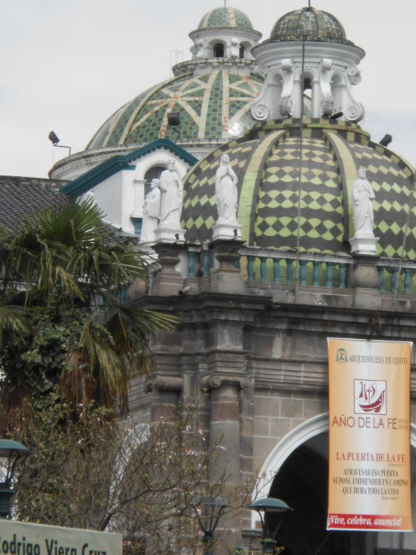 Dome of Quito's la Catedral