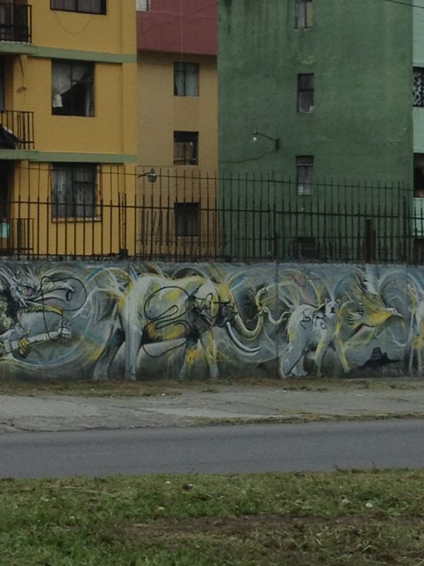 Graffiti in Quito