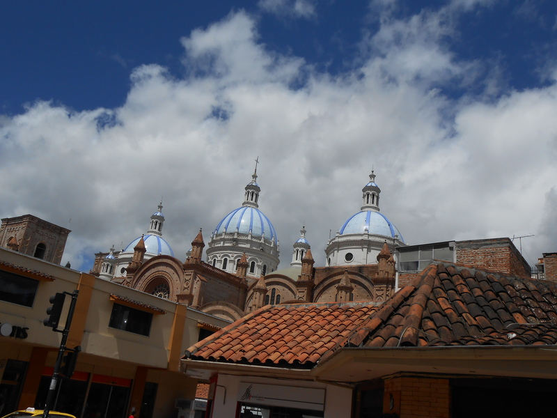 Blue Domes of Cathedral