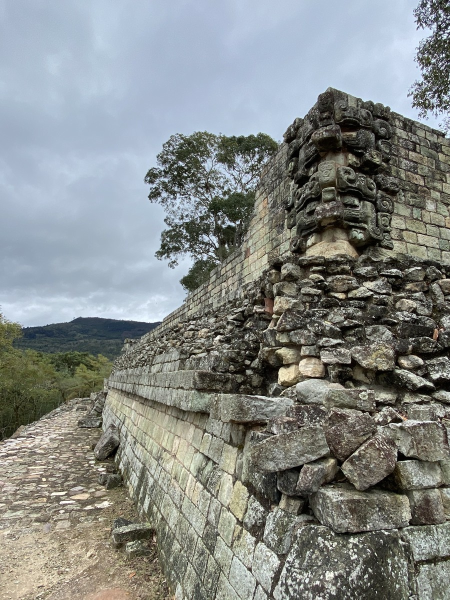Wall at Copán