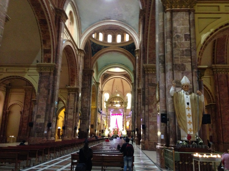 Inside the Stunning Cuenca Cathedral