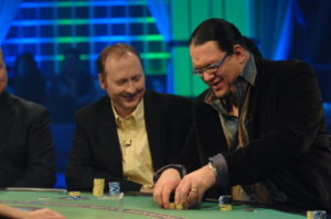 Ken with Penn JIllette on WSOB