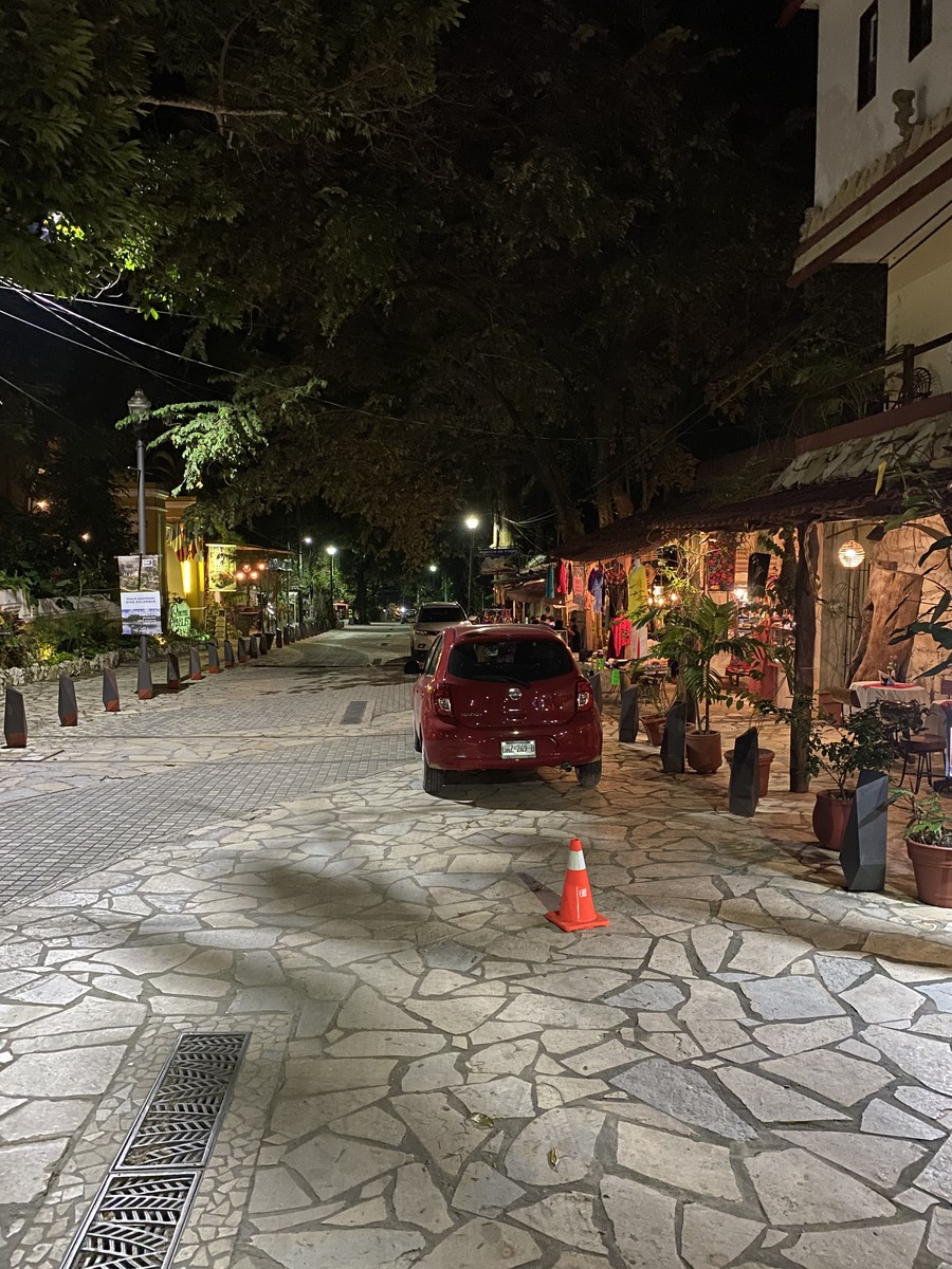 Street in Palenque