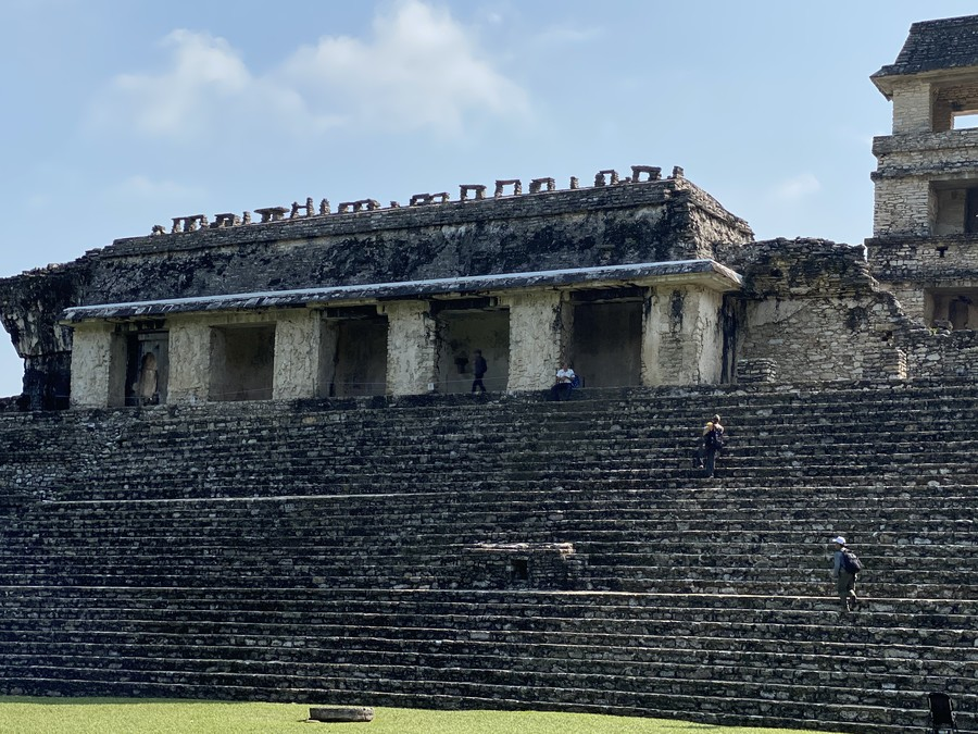 The Palace at Palenque